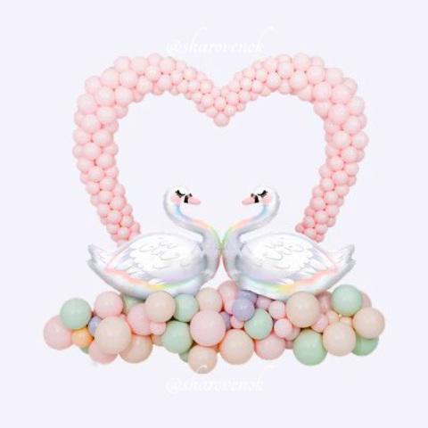 Стойка Влюбленные Лебеди