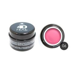 TNL, 4D Гель для дизайна ногтей № 06, розовый, 8 мл