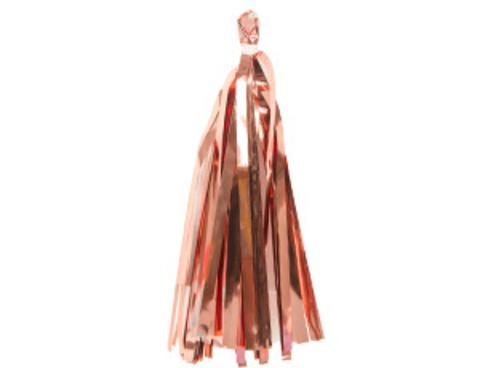 Гирлянда Тассел фольгированная розовое золото