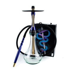 КАЛЬЯН ALPHA HOOKAH MODEL S Dark Blue