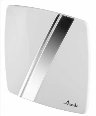 Awenta (Польша) Лицевая панель Awenta PLB100 (Пластик, Белый и хром) Linea PLB100.jpg
