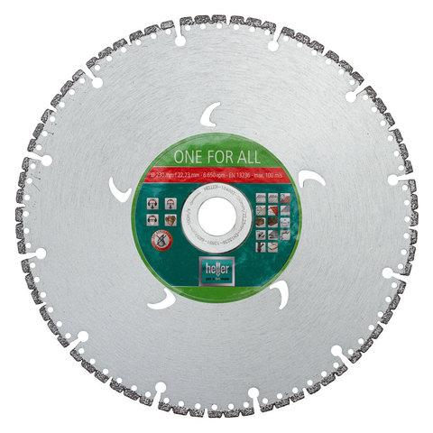 Алмазный диск Heller ONE FOR ALL ExtremeCut 230мм