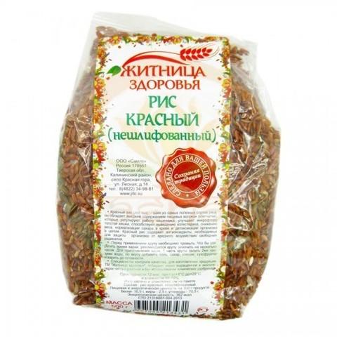 Рис Красный, 500 гр. (Житница здоровья)