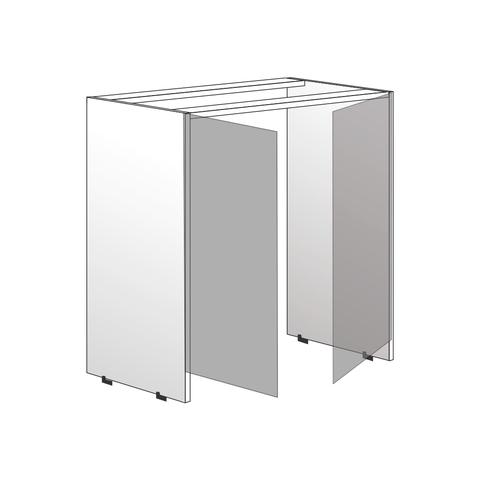 Напольный шкаф для стиральной машины , 820х750 мм