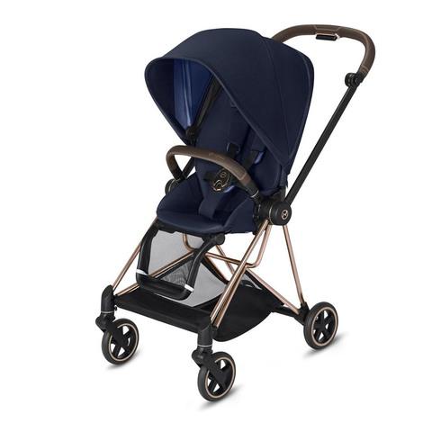 Прогулочная коляска  Cybex Mios Indigo Blue rosegold