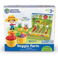 Набор для сортировки Выращиваем овощи, с карточками Learning Resources, упаковка