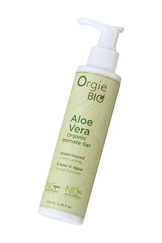 Органический интимный гель ORGIE Bio Aloe Vera с экстрактом алоэ вера - 100 мл.