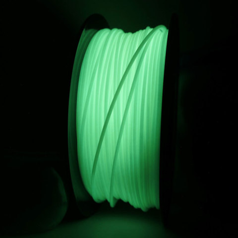 Люминесцентный пластик светящийся в темноте 1,75 мм Bestfilament