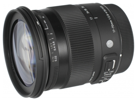 Объектив Sigma AF 17-70mm f/2.8-4.0 DC MACRO OS HSM new Contemporary Canon EF-S