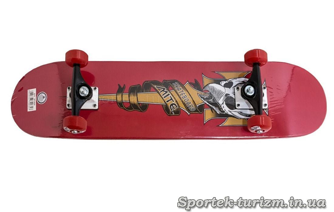 Скейтборд MITE 2806 - вид знизу