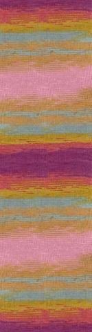 Купить Пряжа Alize Lanagold batik Код цвета 5673 | Интернет-магазин пряжи «Пряха»