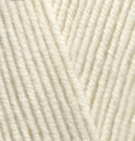 Купить Пряжа Alize Lanagold Код цвета 001 | Интернет-магазин пряжи «Пряха»