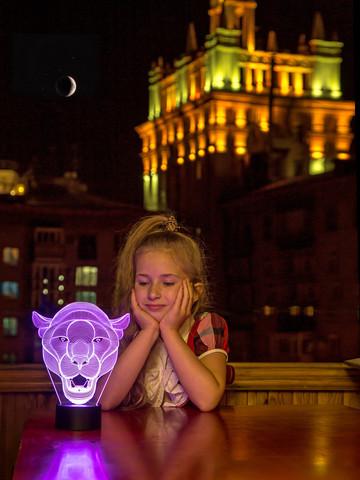 Лампа Львица