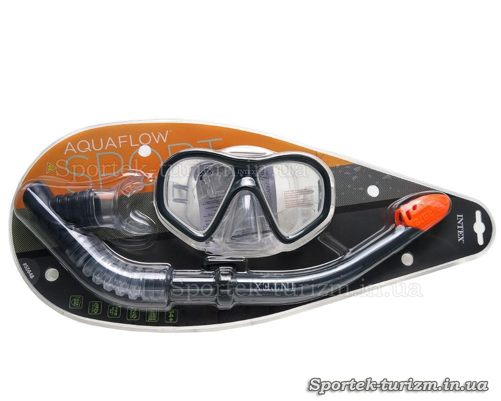 Упаковка набора для подводного плаванья Intex 55648 (маска и трубка)