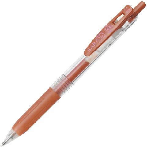 Ручка гелевая Zebra Sarasa Clip Metallic Color (медная 1,0 мм)