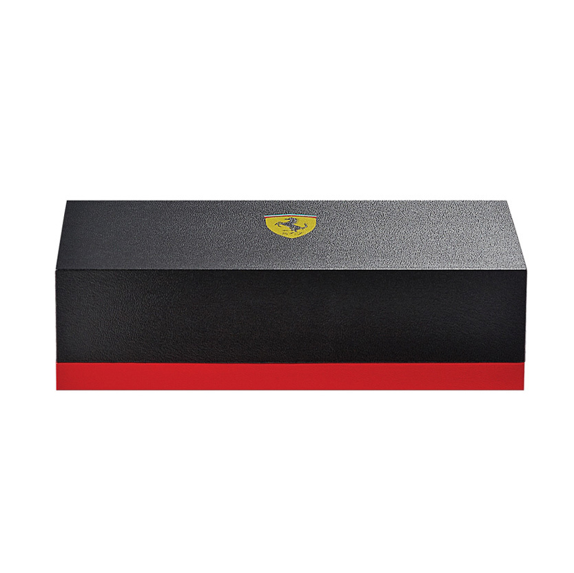 Cross Townsend - Ferrari Glossy Rosso Corsa Red Lacquer/Rhodium, шариковая ручка