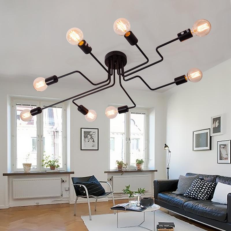 Потолочный светильник Spider by Light Room (8 плафонов)