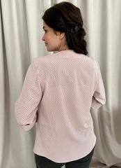 Виктория. Красивая женская блуза. Пудра