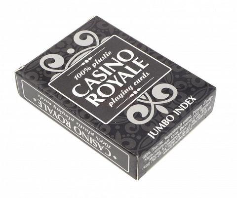Карты для покера «Casino Royale» 100% пластик