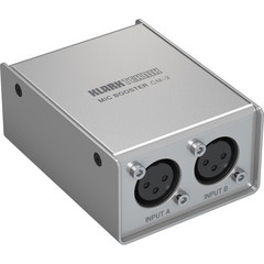 Усилитель микрофона Klark Teknik CM-2 2-Channel Mic Booster for Passive Mics