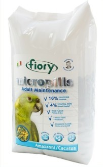 Корм Корм для амазонских попугаев и какаду FIORY Micropills Amazzoni/Cacatua 3f57f265-7045-11e6-80fe-00155d29080b.jpg