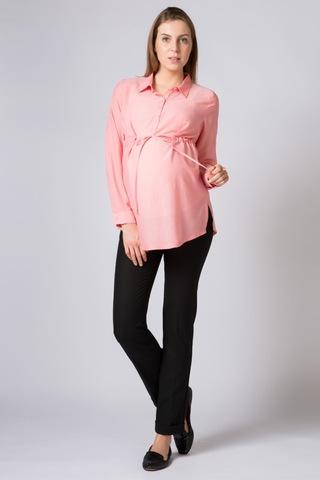 Туника для беременных и кормящих 07148 розовый
