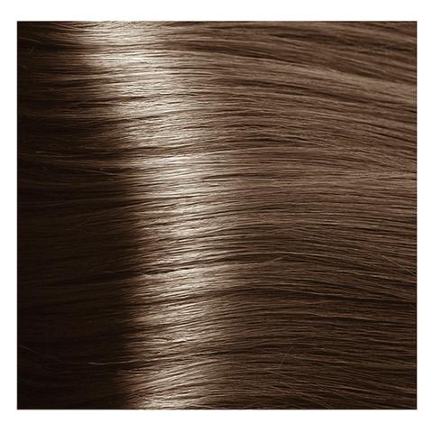 Крем краска для волос с гиалуроновой кислотой Kapous, 100 мл - HY 7.81 Блондин карамельно-пепельный