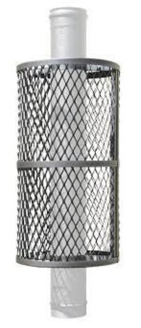 Сетка для камней на трубу ПроМеталл из нержавеющей стали