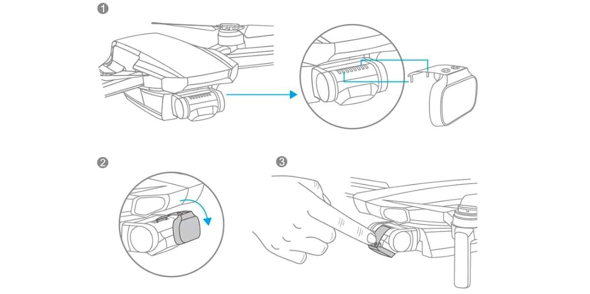 Оптический фильтр PGYTECH Mavic Mini UV Filter (Professional) P-12A-017 инструкция