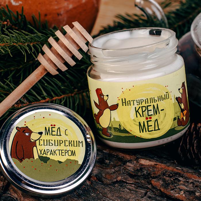 Купить крем-мед суфле в Перми С СИБИРСКИМ ХАРАКТЕРОМ НАТУРАЛЬНЫЙ