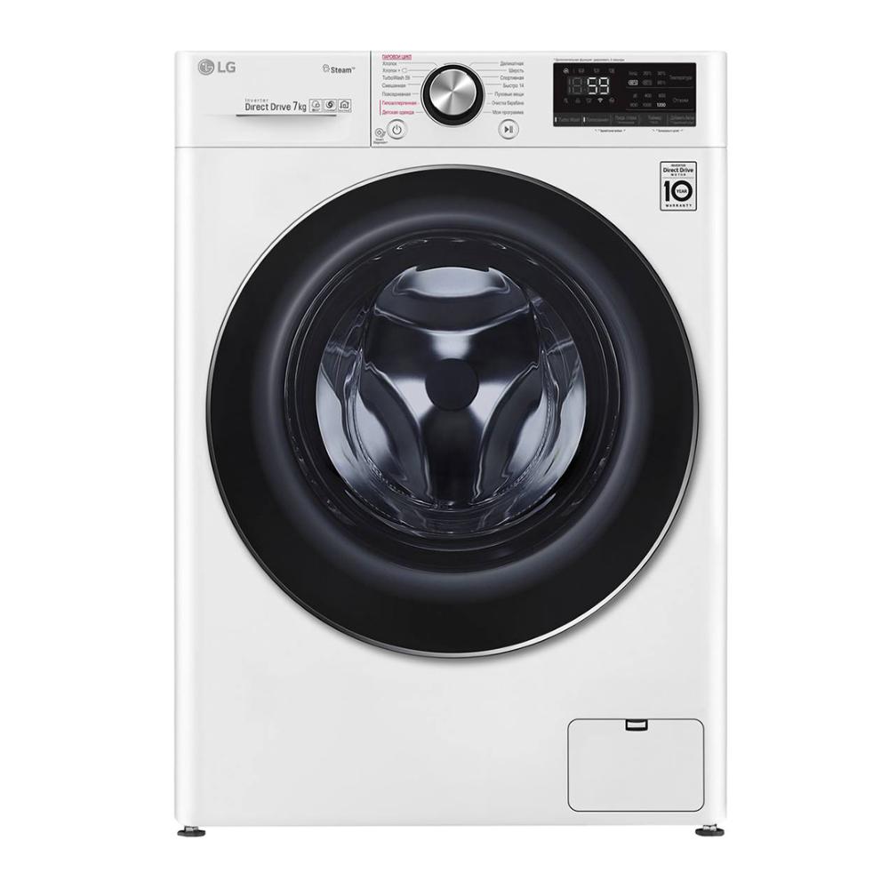 Узкая стиральная машина LG AI DD F2V9HS9W фото