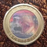 K8765, 2010, Канада, 50 центов  Динозавры Голограмма Буклет блистер + 6 карточек