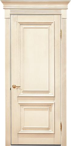 Дверь Лидер-Альверо Екатерина (беленый дуб, глухая, массив дуба)