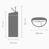 Мусорный бак TOUCH BIN двухсекционный (10/23л), артикул 378720, производитель - Brabantia, фото 5