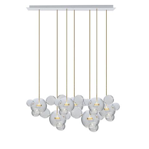 Подвесной светильник копия  Bolle by Giopato & Coombes (7 плафонов)