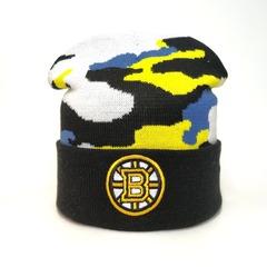 Вязаная шапка хоккей НХЛ Бостон Брюинз (Hockey NHL Boston Bruins)