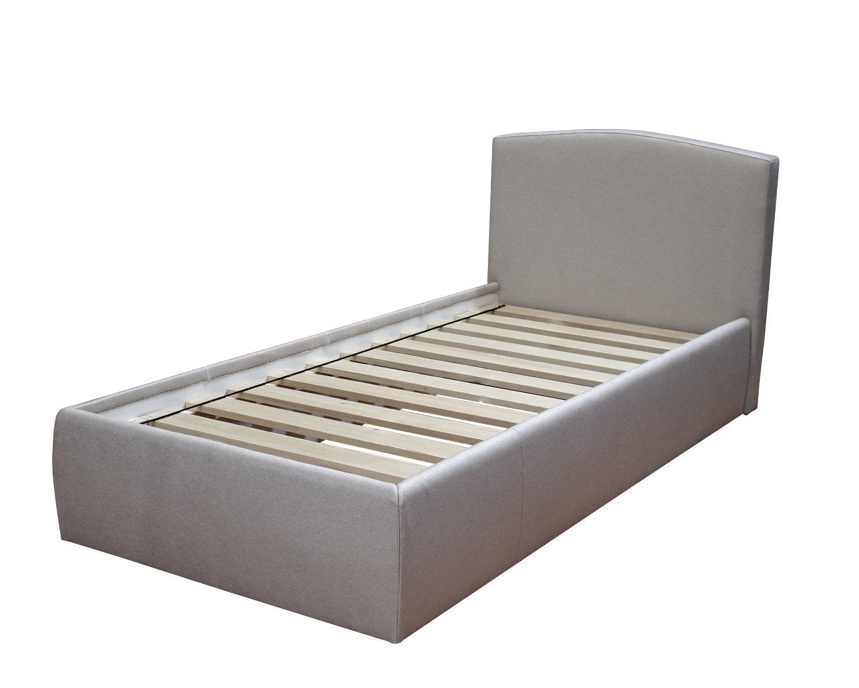 Кровать Севилья с реечным основанием, обивка ткань