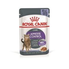 Пауч для взрослых кошек Royal Canin Appetite Control Care для контроля выпрашивания, мелкие кусочки в желе