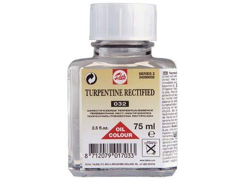 Разбавитель Терпентин для масляных красок №032, флакон стекло 75мл
