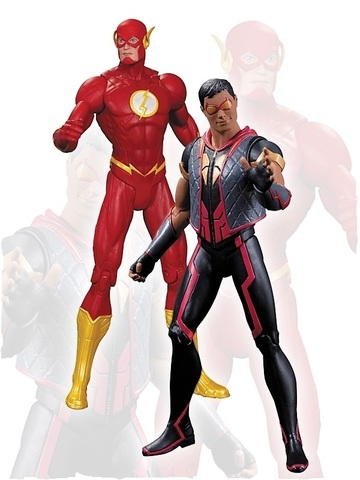 New 52 Justice League Figure Two-Pack - The Flash Vs. Vibe
