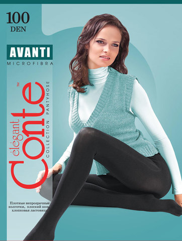 Conte Avanti Колготки женские 100d,  p.3 nero