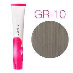 Lebel Materia 3D Grege Gr-10 - Перманентная низкоаммиачная краска для волос