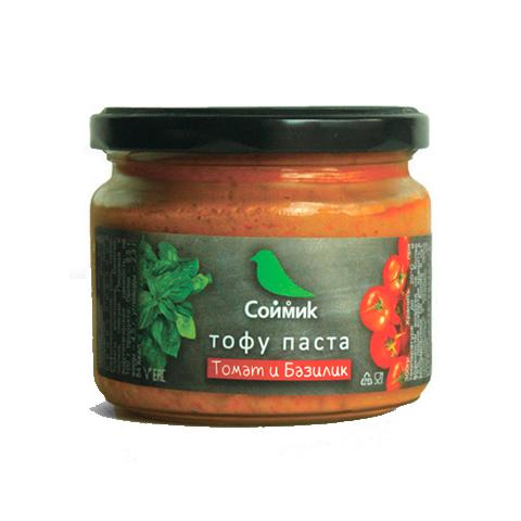 Тофу паста томат и базилик, 260 г