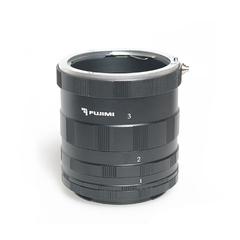 Набор удлинительных колец для макросъёмки  Fujimi FJMTC-C3M  на систему EOS 9мм, 16мм, 30мм (ручная фокусировка)EOS(ручная фокусировка)