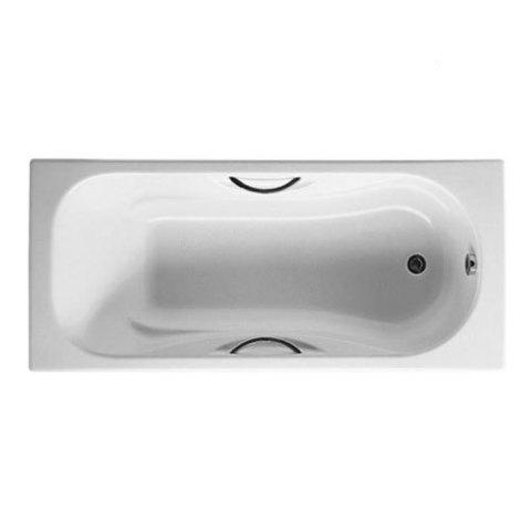 Чугунная ванна Roca Malibu 170x75см. с отверстиями для ручек 2309G000R