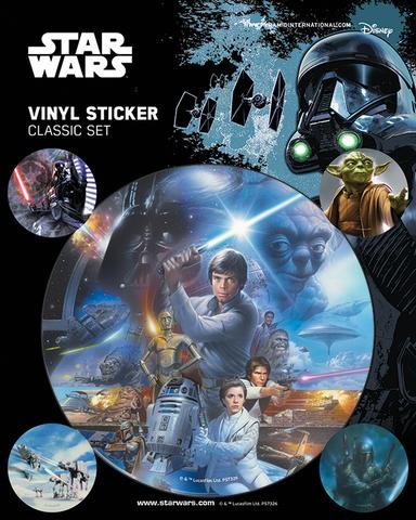 Набор стикеров Star Wars (Classic)