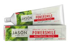"""Отбеливающая натуральная зубная паста """"Сила улыбки"""", Jason"""