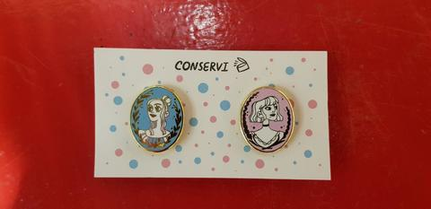 Набор значков «Дора и Агата» от Ани Conservi