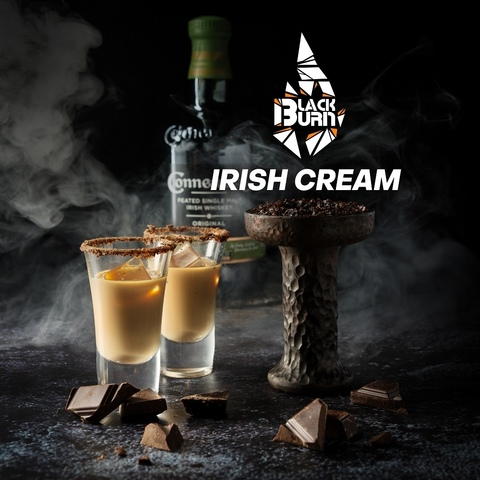 Табак Burn Black Irish Cream (Ирландский крем) 200 г