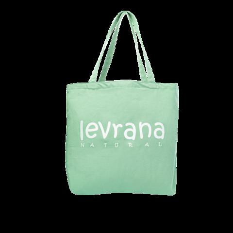 Эко-сумка зелёная | 40x40 см | Levrana